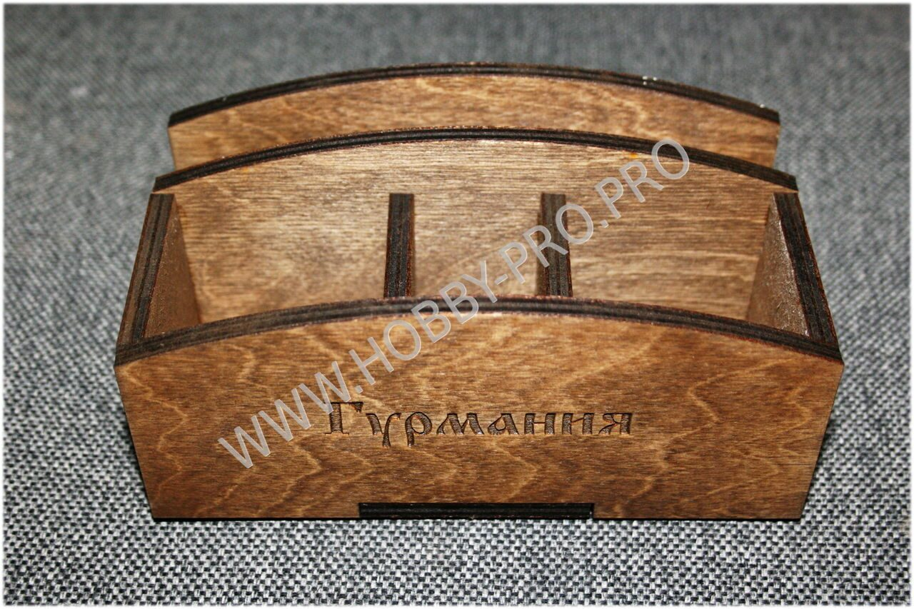 Деревянные подставки для столовых приборов своими руками
